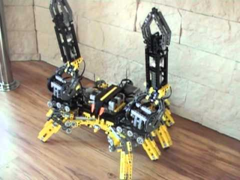 Robot walker 2 arm motorized r/c LEGO Technic - YouTube