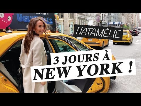 3 JOURS À NEW YORK !