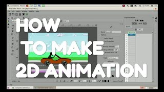 Simple Way To Make  2d Animation In Ubuntu Using Tupi Tube Desk