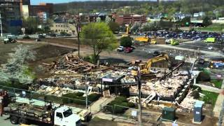 Building On The Promise: Razing Of Child Guidance Building