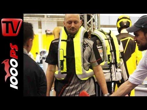 Produktvorstellung   Helite Airbag Weste mit Auslösung