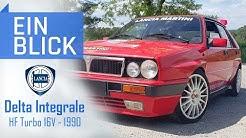 Lancia Delta Integrale HF 16V 1990 - Rally-Ikone oder Klapperkiste? Vorstellung & Test