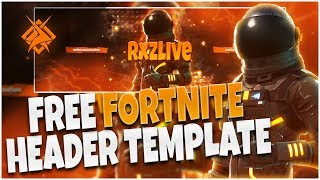 Free Fortnite Header Template | Download in the desc.!