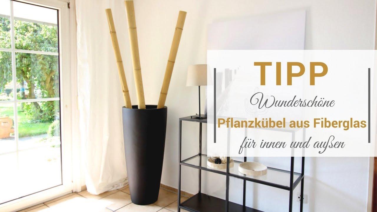 Tipp: Pflanzkübel aus Fiberglas [Gesponsertes Produkt] - YouTube