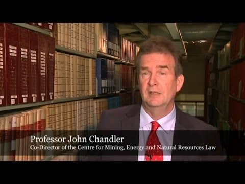 Centre For Mining, Energy & Natural Resources Law