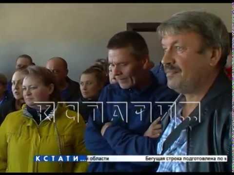 Транспортный переворот в Балахне - нижегородские водители не выпустили местных в рейс,заняв их место