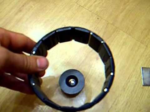 видео: магнитный двигатель(повтор бедини)