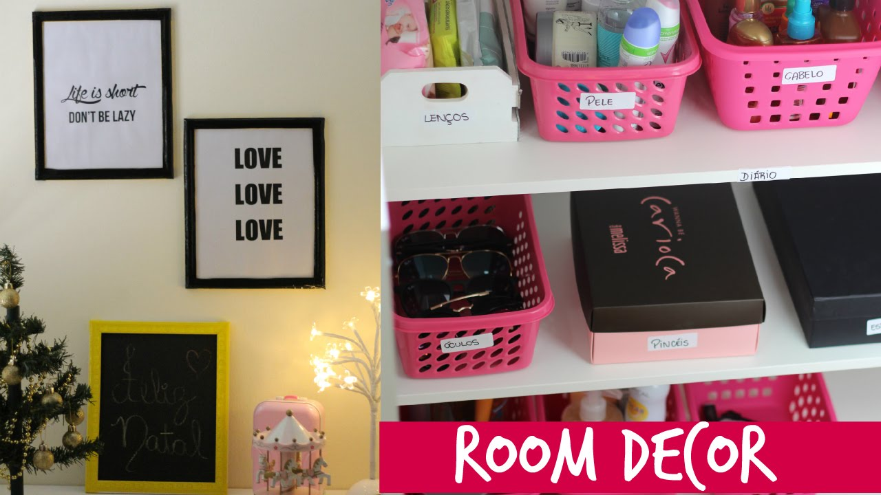 Diy decor e organiza o closet part 1 diy room decor for Room decor organization
