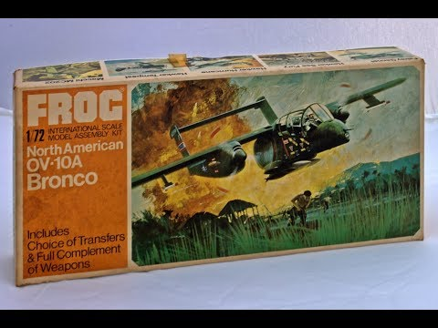 Frog North American OV-10A Bronco 1/72nd Scale Inbox Review