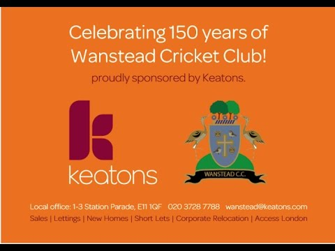 Wanstead & Snaresbrook Cricket Club 150th Anniversary Video