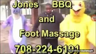 jones bbq and foot massage