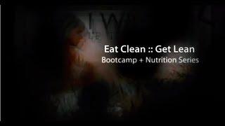 EAT CLEAN :: GET LEAN {avail both IN STUDIO + ONLINE}