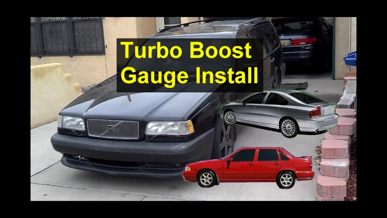 how to install a turbo boost gauge detailed version youtube rh youtube com