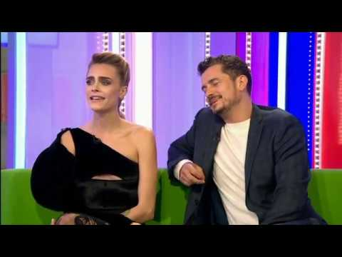 CARNIVAL ROW Orlando Bloom & Cara Delevingne interview 2019