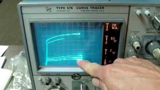 Matching 6V6 Vacuum Tubes With The Tektronix 576 Curve Tracer