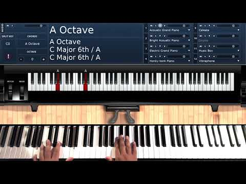 Let it Snow (by Boyz II Men & Brian McKnight) - Piano Tutorial