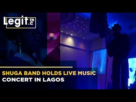 Nigeria Latest News: Shuga Band Holds Live Music Concert in Lagos   Legit TV thumbnail