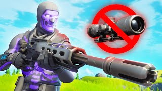 the no scope only challenge...