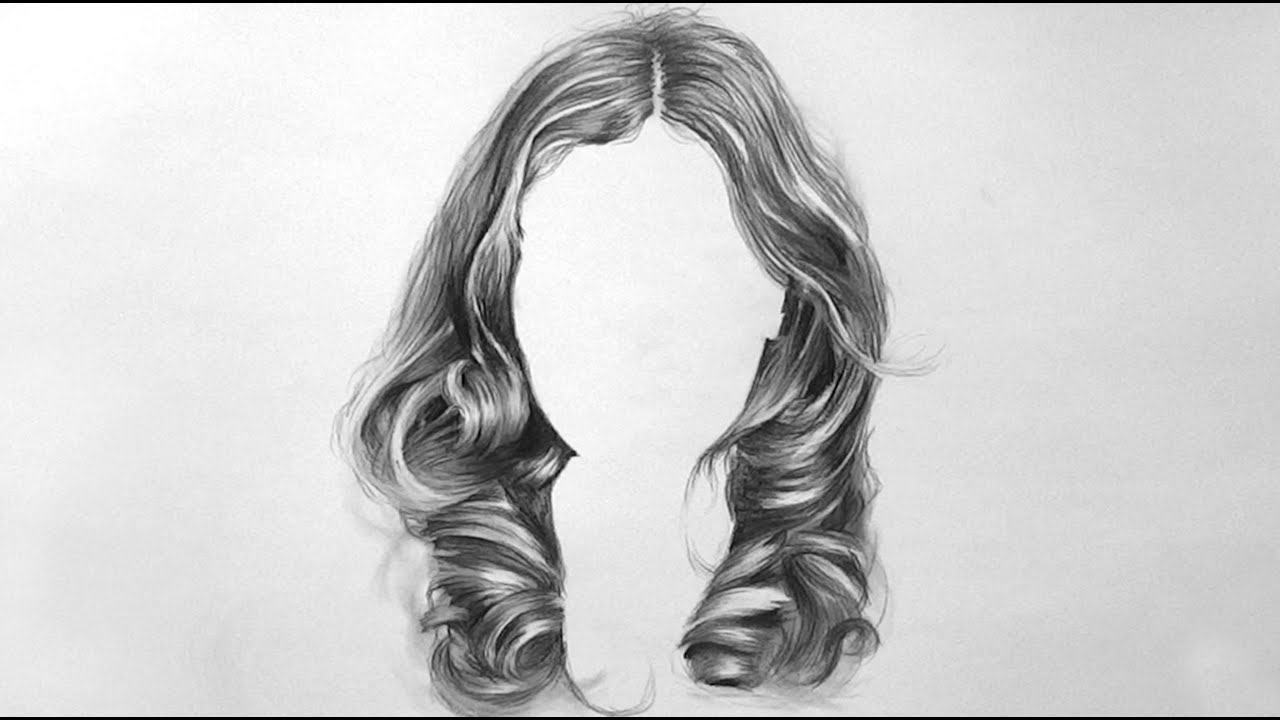 Ep06 drawing womens hair realistic appeal time lapse
