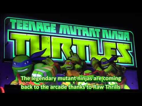 Here's A Good Look At The New TMNT Arcade Game