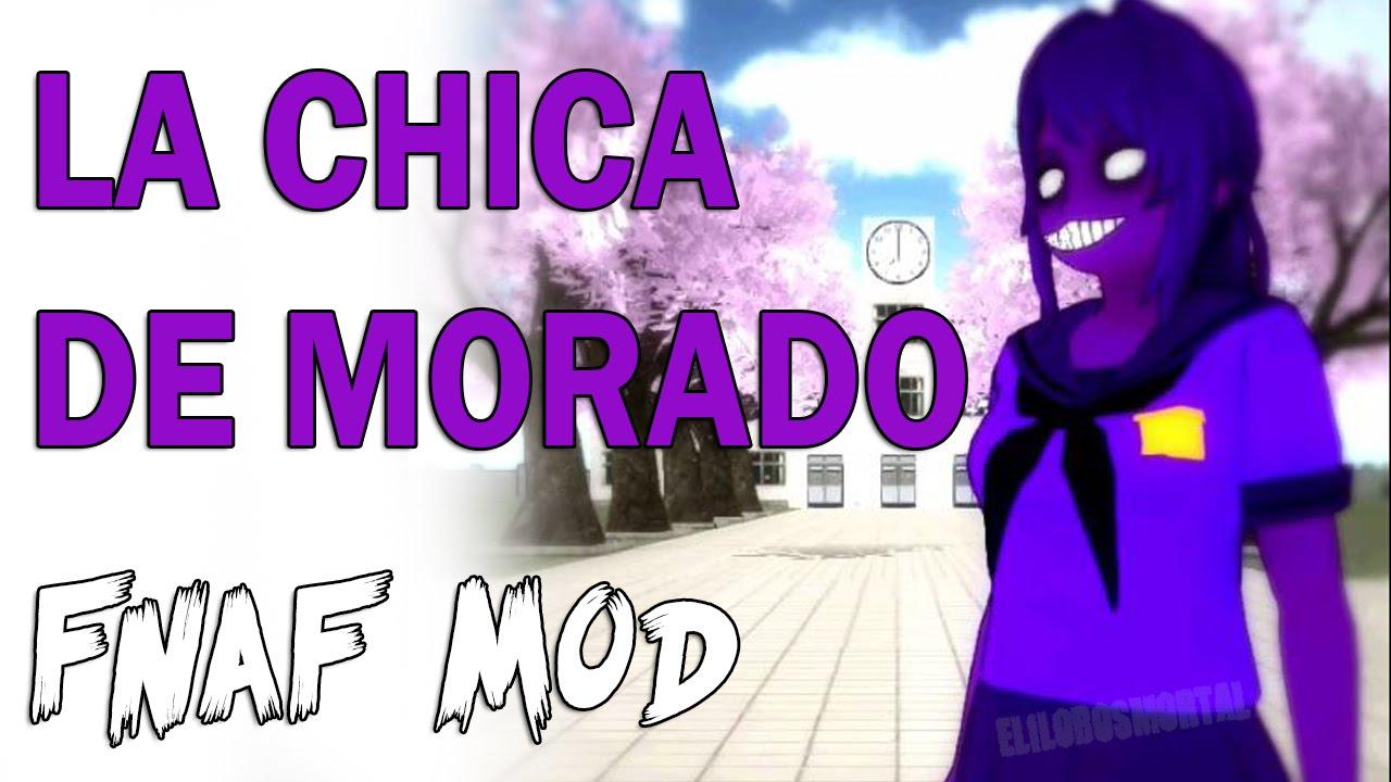 Hombre morado skin five nights at freddy s mod purple guy youtube