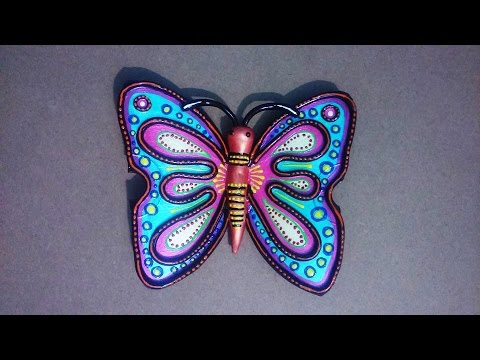 Hobby ideas best out of waste butterfly from waste cd for Easy waste out of best
