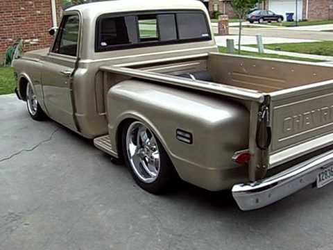 1972 chevy c10 bagged youtube. Black Bedroom Furniture Sets. Home Design Ideas