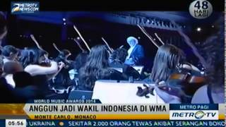 Anggun C Sasmi Duta Indonesia dalam World Music Awards 2014