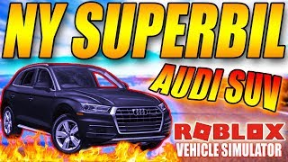 BUY THE NEW * AUDI SUV SUPERCAR *-🚘 750 KM/H 🚘-VEHICLE SIMULATOR-ENGLISH ROBLOX-[#44]