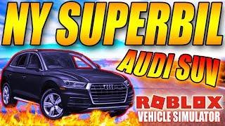 ACHETER LE NOUVEAU - AUDI SUV SUPERCAR -🚘 750 KM/H 🚘-VEHICLE SIMULATOR-ENGLISH ROBLOX-[#44]