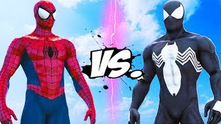 SPIDER-MAN COMIC VS BLACK SPIDER-MAN | EPIC BATTLE