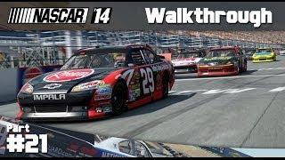 NASCAR 14 Game: Career Mode Part 21 - Indianapolis (PC Gameplay)