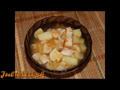 Грибной суп в мультиварке мулинекс