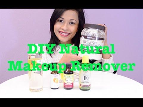 At Home Natural Eye Makeup Remover Tips