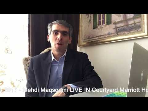 CIBA FIRST ANNUAL CONFERENCE - Mehdi Maqsoumi LIVE IN MONTREAL, FROME TEHRAN IRAN