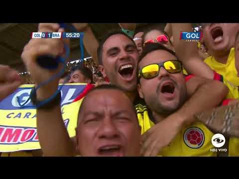 Gol de Falcao ante Brasil (Colombia vs Brasil)