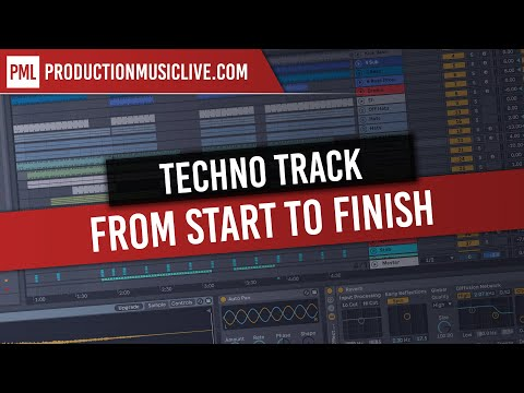 Techno from Start to Finish - Ableton and Massive - Free Sam