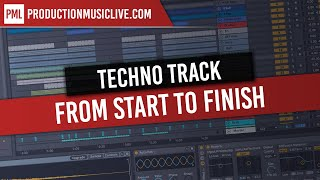 Techno from Start to Finish - Ableton Live and Massive Tutorial - Free Samples