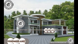 Indian House Design By 99HOMEPLANS COM [ Esp: M082 ]