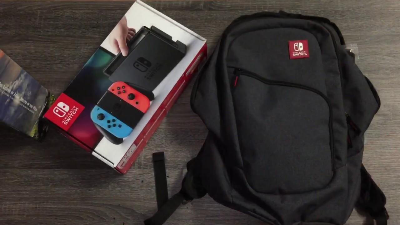 79c4ea743f Nintendo Switch Elite Backpack - YouTube