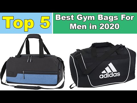The 05 Best Gym Bags For Men in 2020