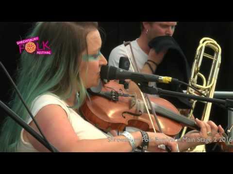 Eliza Carthy at Shrewsbury Folk Festival 2016
