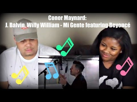 Conor Maynard: J. Balvin, Willy William - Mi Gente featuring Beyoncé Reaction!!