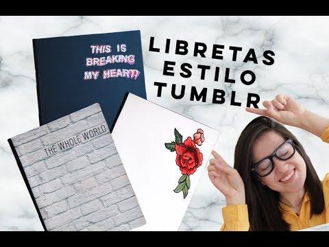 Ideas Decorar Libretas