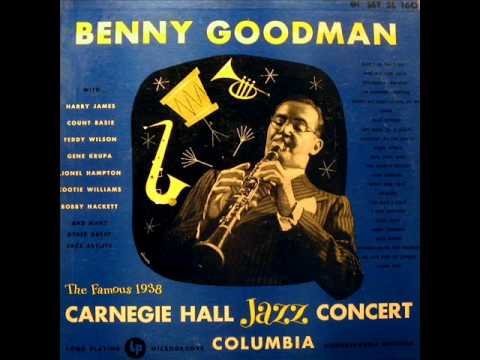 Sing Sing Sing by Benny Goodman from Live At Carnegie Hall 1938 Concert on Columbia.