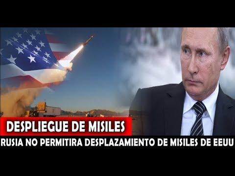 LO ULTIMO : Rusia Anuncia que no Permitira DESPLIEGUE de Misiles de EEUU en Asia