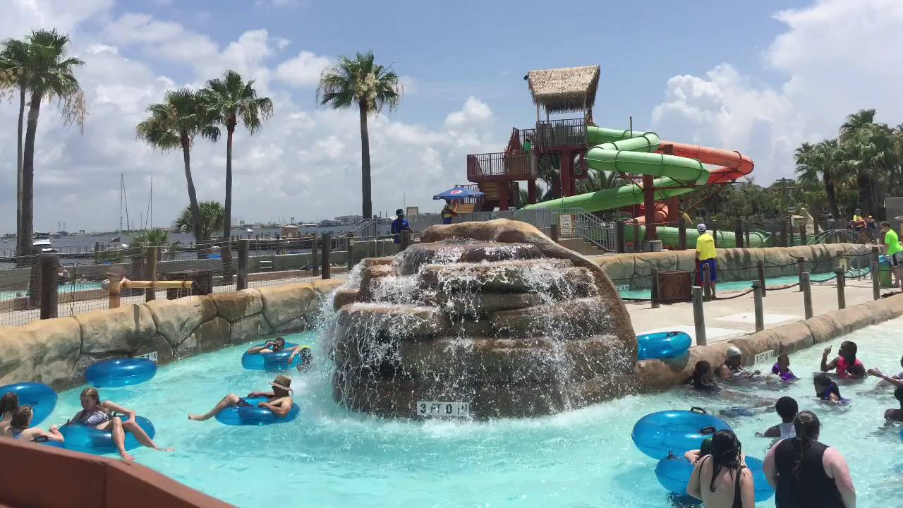 Moody Gardens Palm Beach Waterpark In Galveston Tx Part