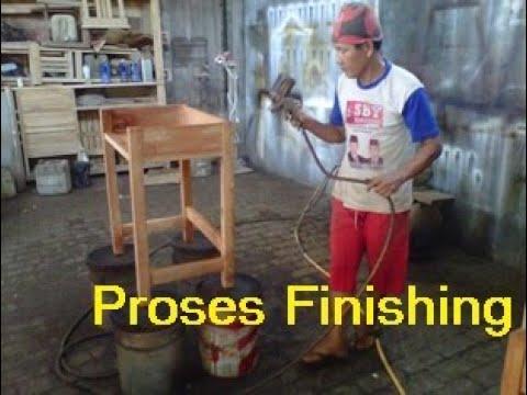 Proses Finishing UD QUNO FURNITURE