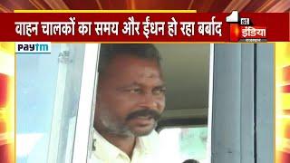 Sikar- Loharu Toll Road पर स्लोटैग, बार बार लाइन में लगने को मजबूर वाहन चालक