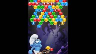 Smurfs Bubble Story Level 84 - NO BOOSTERS